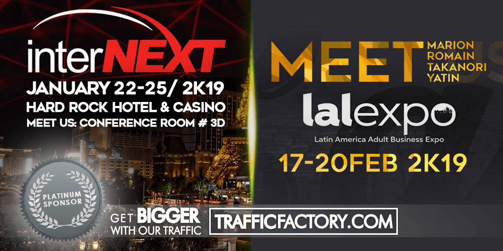 traffic factory - trade show Internext - lalexpo